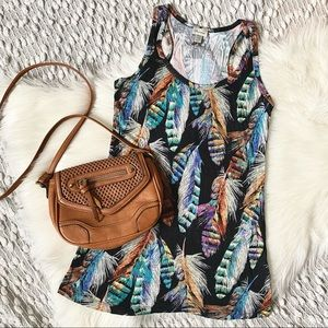 (🌸2/$25🌸) Feather Tank Top from Dynamite
